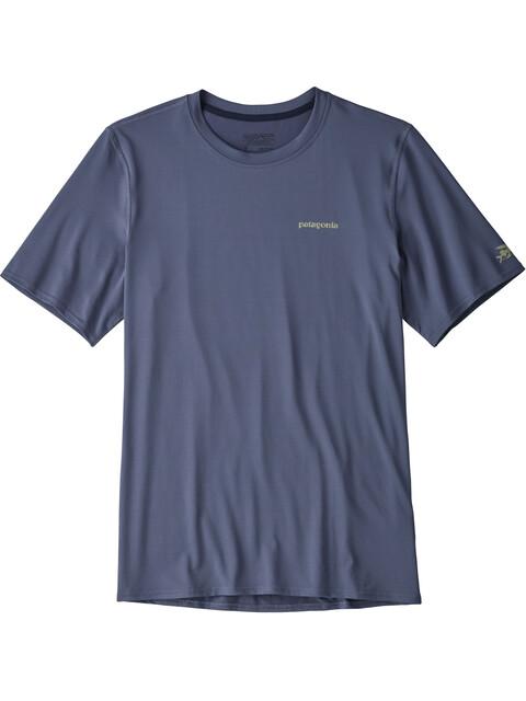 Patagonia R0 Sun - T-shirt manches courtes Homme - bleu